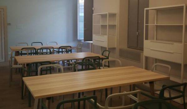 immagine di una sala lettura
