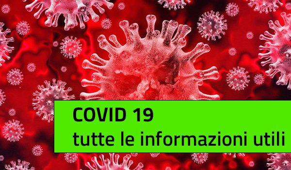 Codid 19: tutte le informazioni utili
