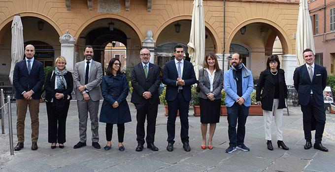 Foto di gruppo giunta nominata